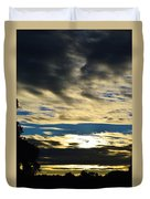 Portrait Sunrise Duvet Cover