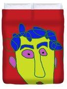 Portrait 01 Duvet Cover