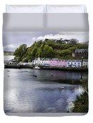 Portree Isle Of Skye Duvet Cover