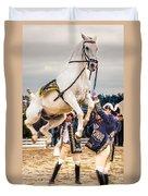 Portugal Lusitano Horse Duvet Cover