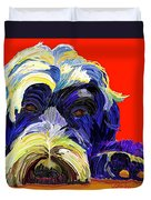 Portugese Water Dog 1 Duvet Cover