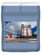 Portuguese Church Duvet Cover