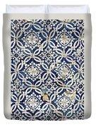 Portuguese Glazed Tiles Duvet Cover