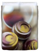 Portwine Infused Chocolates Duvet Cover