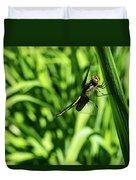 Posing Dragonfly 2 Duvet Cover