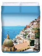 Positano, Italy II Duvet Cover
