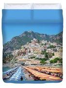Positano Resort Duvet Cover