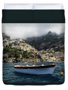 Positano By The Water Duvet Cover
