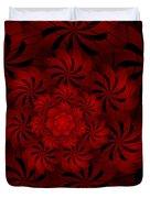 Positively Red Duvet Cover