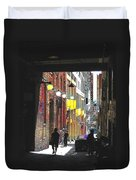 Post Alley Duvet Cover