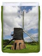 Post Mill Windmill Duvet Cover