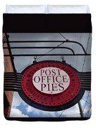 Post Office Pies Duvet Cover