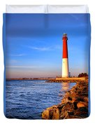 Postcard From Barnegat  Duvet Cover