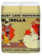 Poster For Cinderella Duvet Cover