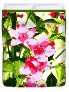 Poster Pink Duvet Cover