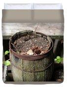 Pot Waiting For New Plant Duvet Cover