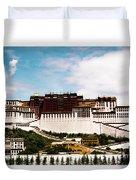 Potala Palace Dalai Lama Home Place. Tibet Kailash Yantra.lv 2016  Duvet Cover