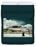 Potala Palace. Lhasa, Tibet. Yantra.lv Duvet Cover