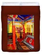 Potala Tea Room Duvet Cover