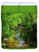 Potamac River In Maryland Duvet Cover