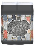 Pothole Repair Duvet Cover
