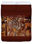 Pots And Pans Shop Or Is Jinni Home  Duvet Cover