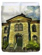Potter Schoolhouse Duvet Cover