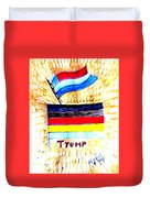 Potus For All Black Brown, Red, Yellow, White Duvet Cover