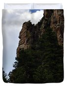 Poudre Canyon Duvet Cover