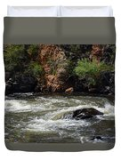 Poudre River Duvet Cover