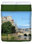 Poulteney Bridge Bath 1 Duvet Cover