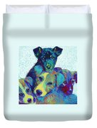 Pound Puppies Duvet Cover
