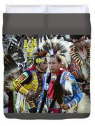 Pow Wow Back In Time 1 Duvet Cover