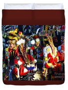 Pow Wow Beauty Of The Past 5 Duvet Cover