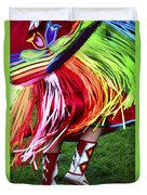 Pow Wow Beauty Of The Past 9 Duvet Cover