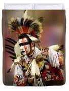Pow Wow Chicken Dancer 1 Duvet Cover