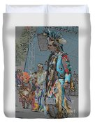 Pow Wow Competition Duvet Cover