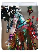 Pow Wow Dancer Duvet Cover