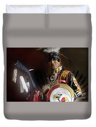 Pow Wow Portrait Of A Proud Man 2 Duvet Cover