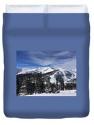 Powder Day On The Pass Duvet Cover