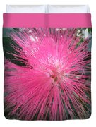 Powder Puff Tree Duvet Cover