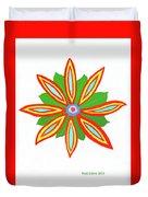 Power Flower Duvet Cover