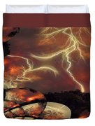 Power Punch Duvet Cover