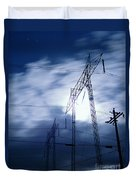 Power Surge Duvet Cover