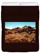 Power Transport From Hoover Dam Duvet Cover