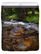 Powerful Spring Runoff Duvet Cover