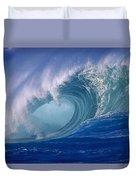 Powerful Surf Duvet Cover