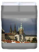 Prague Castle Complex Duvet Cover