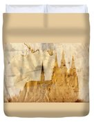 Prague Castle Duvet Cover