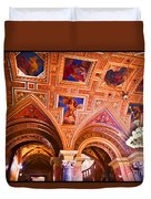 Prague Church Ceiling Duvet Cover
